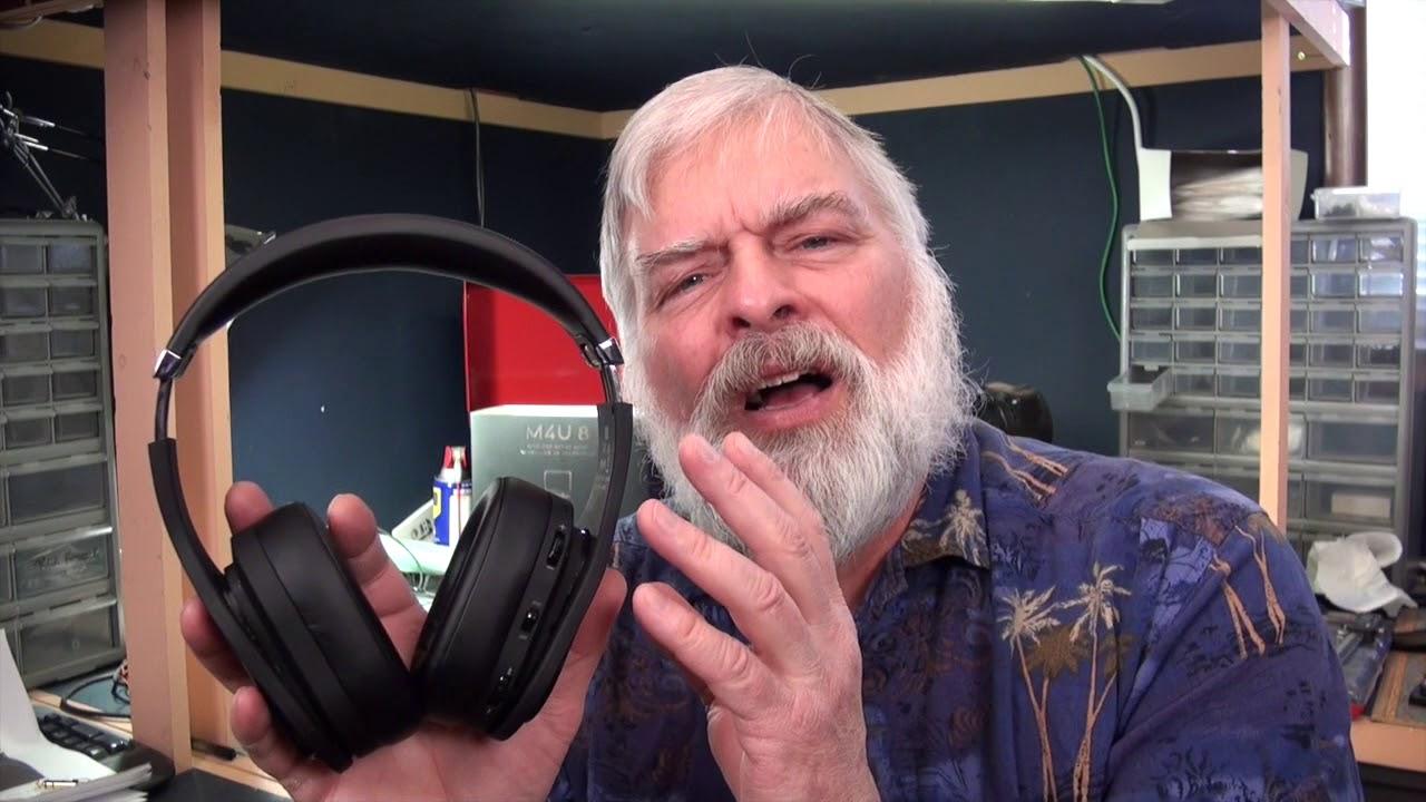 fa89411bbe3 PSB M4U 8 Over Ear Wireless Noise Canceling Headphones - YouTube