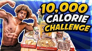 10,000 CALORIE CHALLENGE IN 24 HOURS - DID I DO IT?