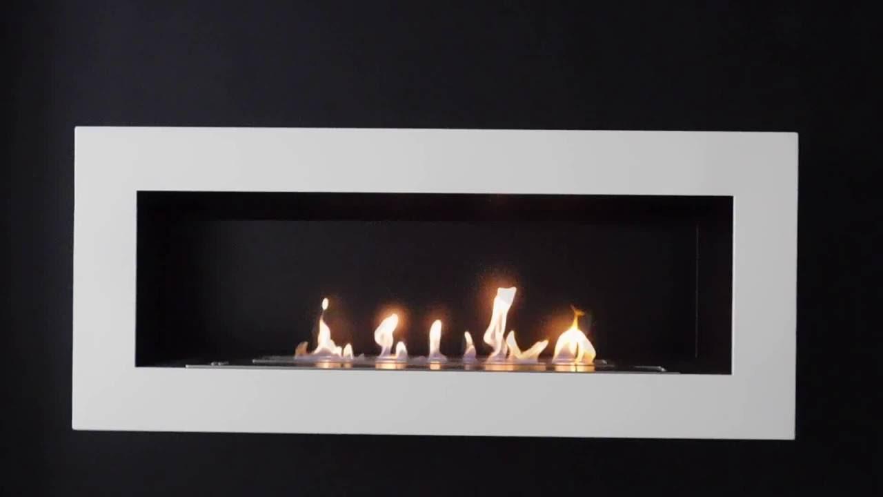 Sasa xl chimenea bioetanol de pared youtube - Chimeneas de bioetanol leroy merlin ...