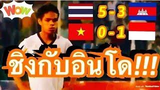 คอมเมนต์ชาวอินโดนีเซีย หลังทราบว่าไทย คือคู่แข่งในรอบชิงชนะเลิศ ของศึกฟุตบอล U22 ชิงแชมป์อาเซี่ยน