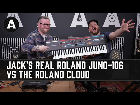 Hardware vs Software | Jack's REAL Roland JUNO-106 vs The Roland Cloud