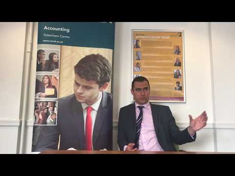 AAT's Anthony Clarke discusses Accounting at CONEL