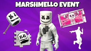New MARSHMELLO LIVE EVENT TIMINGS + FREE REWARDS in Fortnite