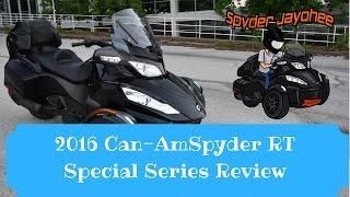 2016 Can-Am Spyder RT Special Series Overview - Spyder Talk #2