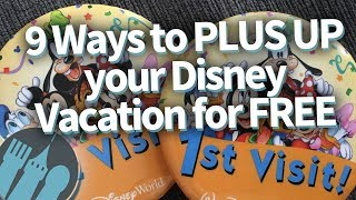 9 FREE Ways To Upgrade Your Disney Vacation