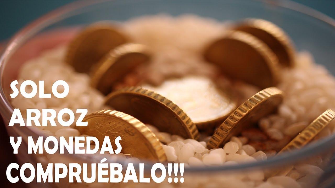 ATRAER DINERO URGENTE Hechizo con Arroz y Monedas Ritual Para Atraer Dinero  Efectivo