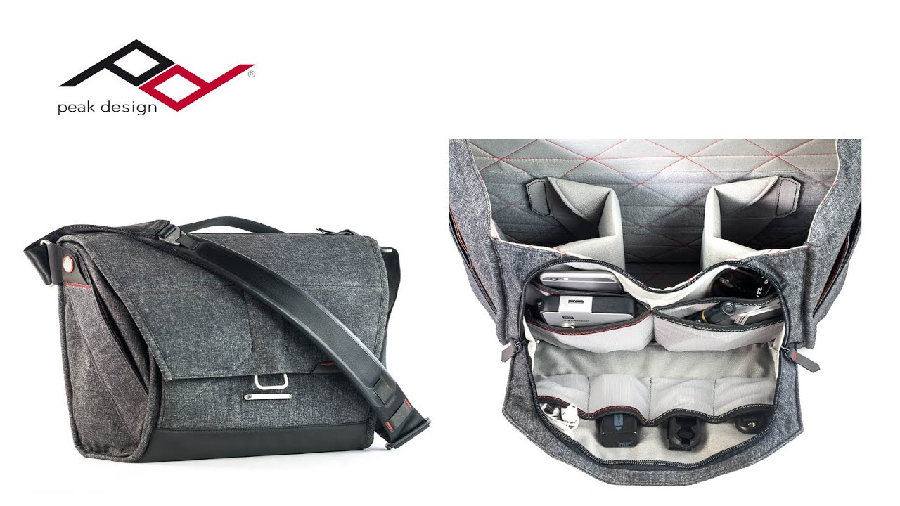 c5bc06a59eda Peak Design Everyday Messenger Bag 13 Charcoal Fototasche  eycPD ...