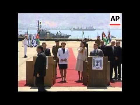 ISRAEL: JORDAN'S KING ABDULLAH VISIT