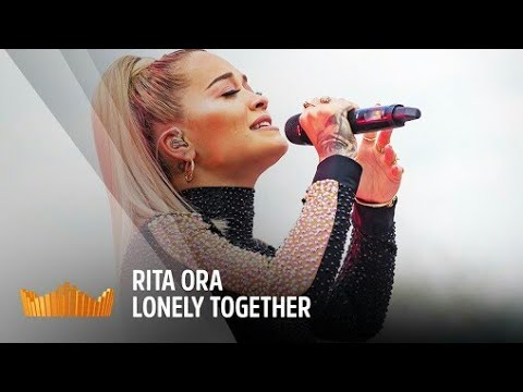 Rita ora crying while singing Lonely Together  Tribute to Avicii