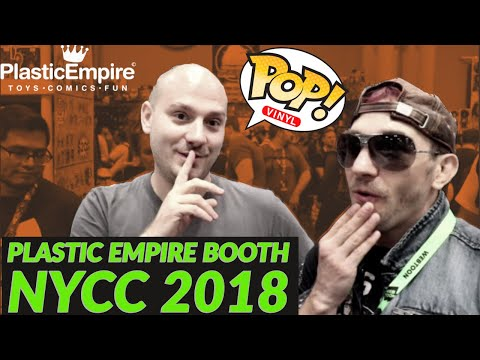 Plastic Empire Booth NYCC 2018