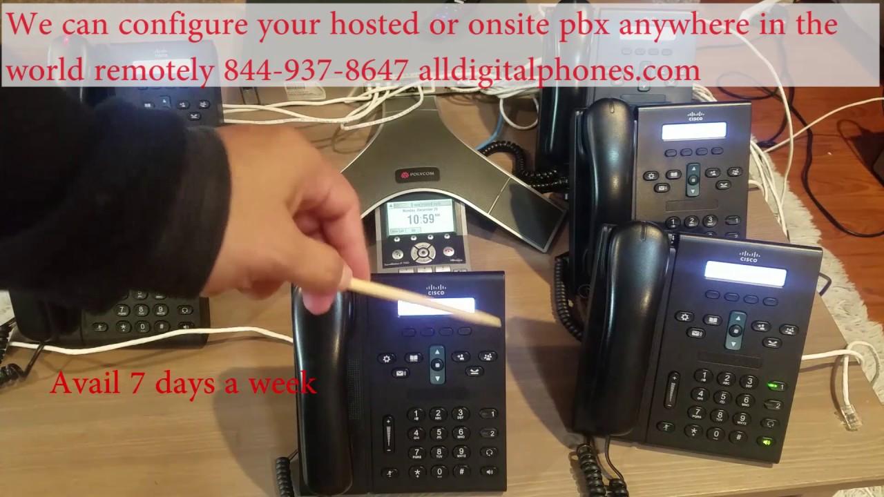 cisco 6921 6941 6961 Freepbx Training asterisk pbx in flash elastix hosted  or onsite