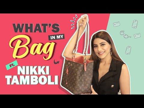 What's In My Bag Ft. Nikki Tamboli | Bag Secrets Revealed | India Forums