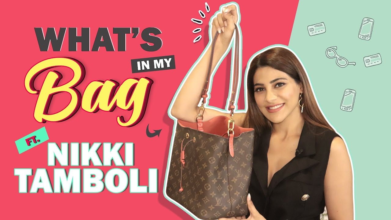 Download What's In My Bag Ft. Nikki Tamboli   Bag Secrets Revealed   India Forums
