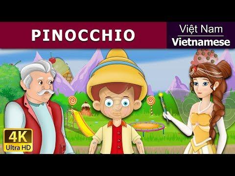 Pinocchio - truyện cổ tích việt nam - Phim hoạt hình - Vietnamese Fairy Tales