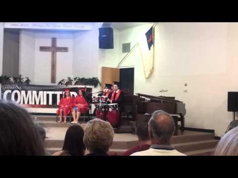 Graduation 2012  CCA Silas Taylor singing