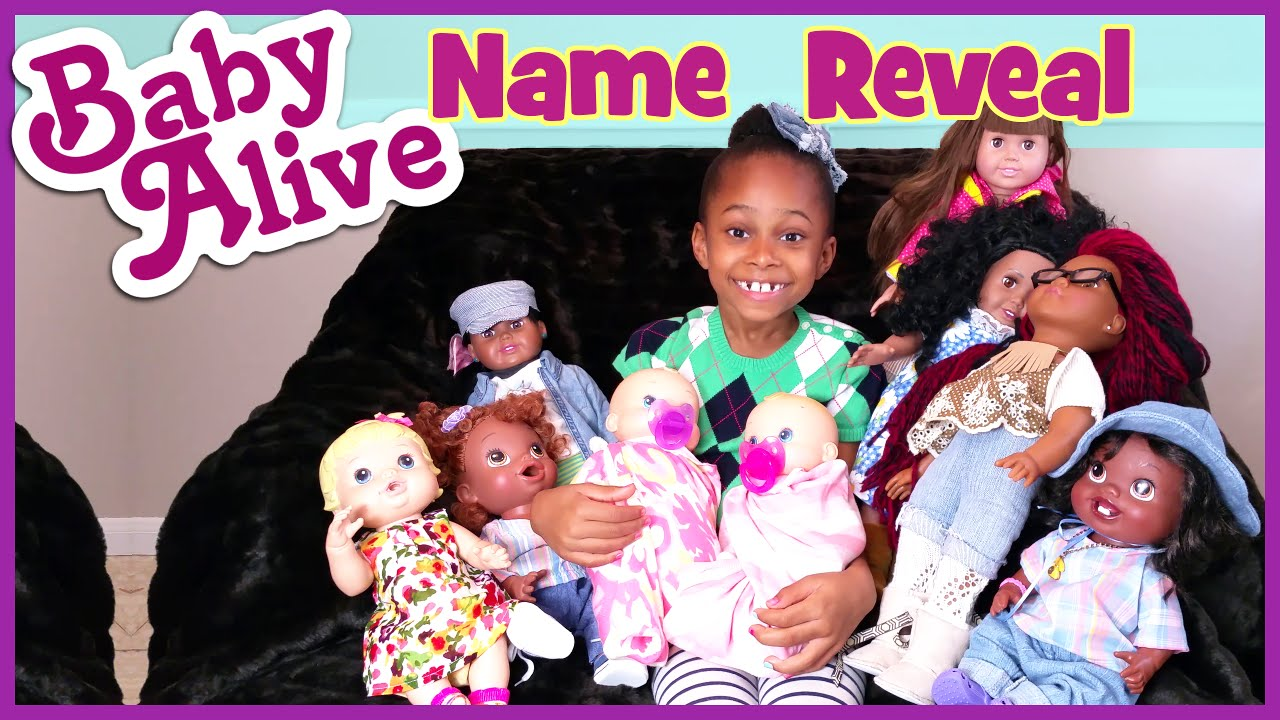 Baby Alive Surprise Twins Name Reveal Meet All My Dolls