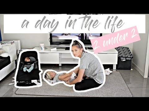 A DAY IN THE LIFE WITH 2 BABIES UNDER 2  FIRST DAY HOME ALONE!  *AUSSIE MUM VLOGGER*