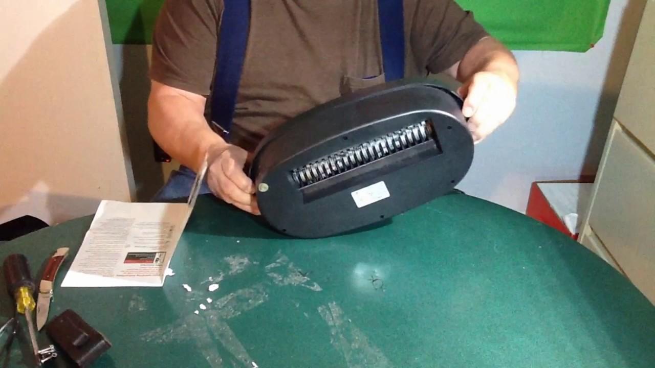 Fix paper shredder