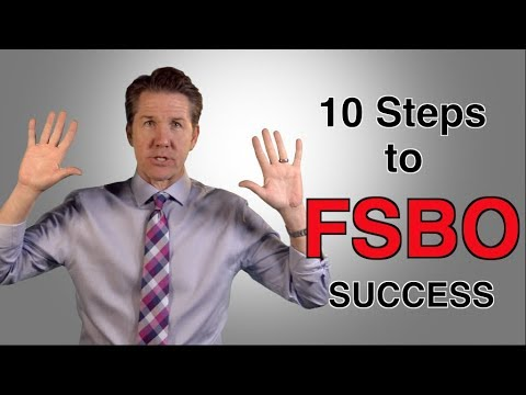 How To For Sale By Owner - 10 Steps To FSBO Success