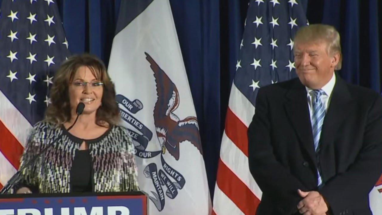 Sarah Palin May Be Moving To Washington For Donald Trump's Cabinet ...