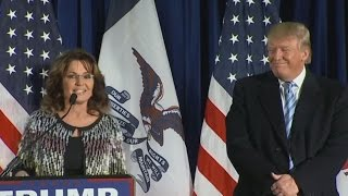 Sarah Palin May Be Moving To Washington For Donald Trump's Cabinet