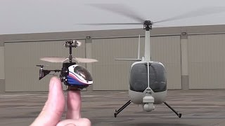 Worlds smallest RC Heli flown inside real helicopter : Silverlit Nano Falcon thumbnail