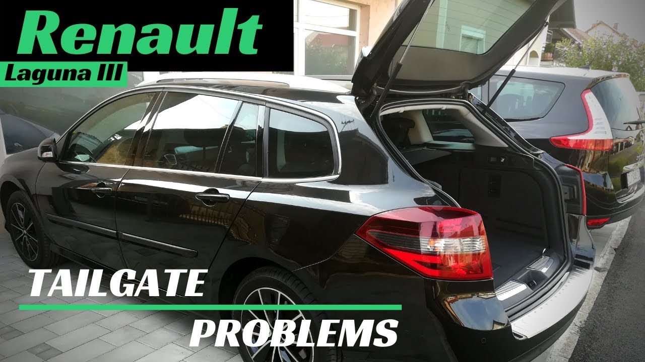 Tailgate Won T Open Renault Laguna 3 How To Fix Tailgate Latch Youtube