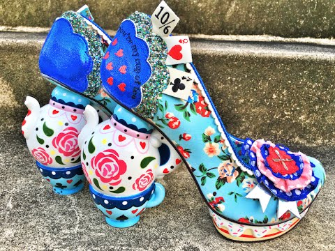 ALICE IN WONDERLAND SHOES! MAD TEA PARTY!
