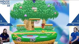 House of Smash 68 - Howie vs Toa - Winners Finals - Smash 64