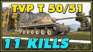 World of Tanks | TVP T 50/51 - 11 Kills - 9.5K Damage