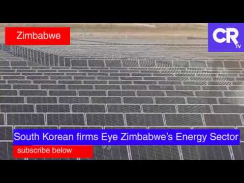 Zimbabwe to benefit from US$ 300m solar project by South Koreans