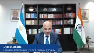 ICC Digital Healthcare Expo Message by Indian Ambassador in Argentina