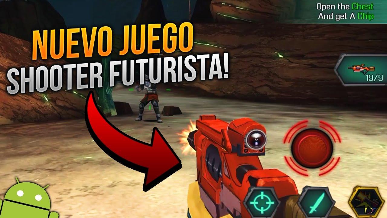 Descarga Increible Juego Shooter Futurista Online Para Android
