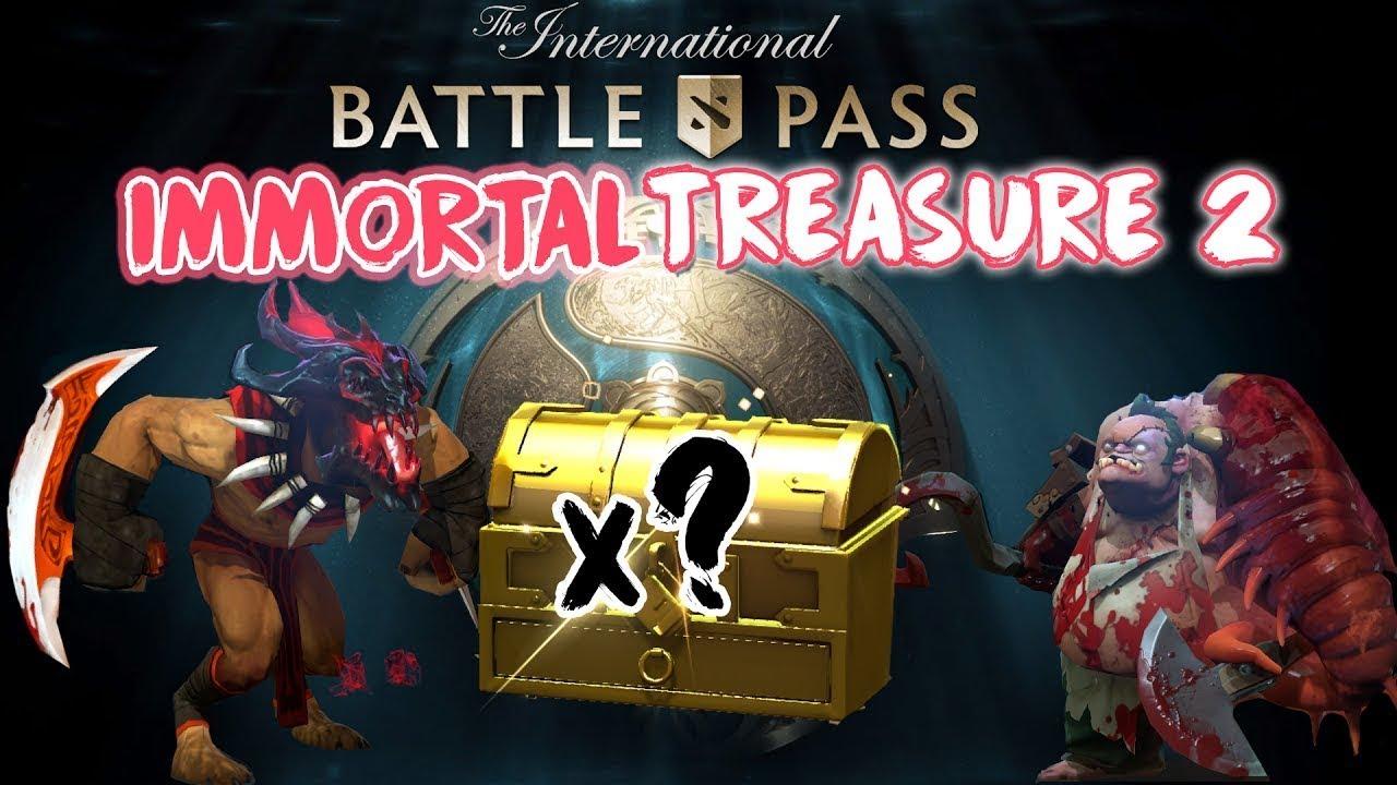 Dota 2 Immortal Treasure Ii: Dota 2 The International 2017