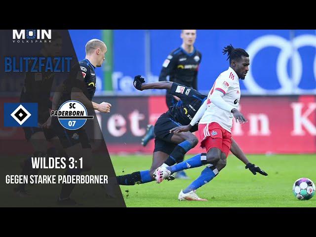 Scholles Blitzfazit zum Spiel | HSV 3:1 SC Paderborn / Saison 20/21 | #006