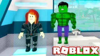 Roblox → BUILDING The TOWER OF the AVENGERS!! -Roblox Avengers Tycoon 🎮