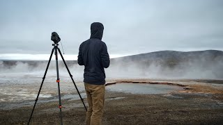 Photographing Volcanic Landscape on Film