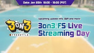 3on3 FS Live Streaming Day  | 3on3 FreeStyle