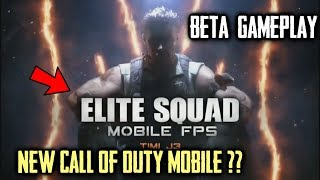 Elite Squad - Mobile FPS (New Call Of Duty Mobile?) Beta Gameplay