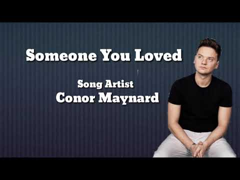 Someone You Loved - Conor Maynard