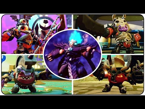 Skylanders Imaginators - All Bosses