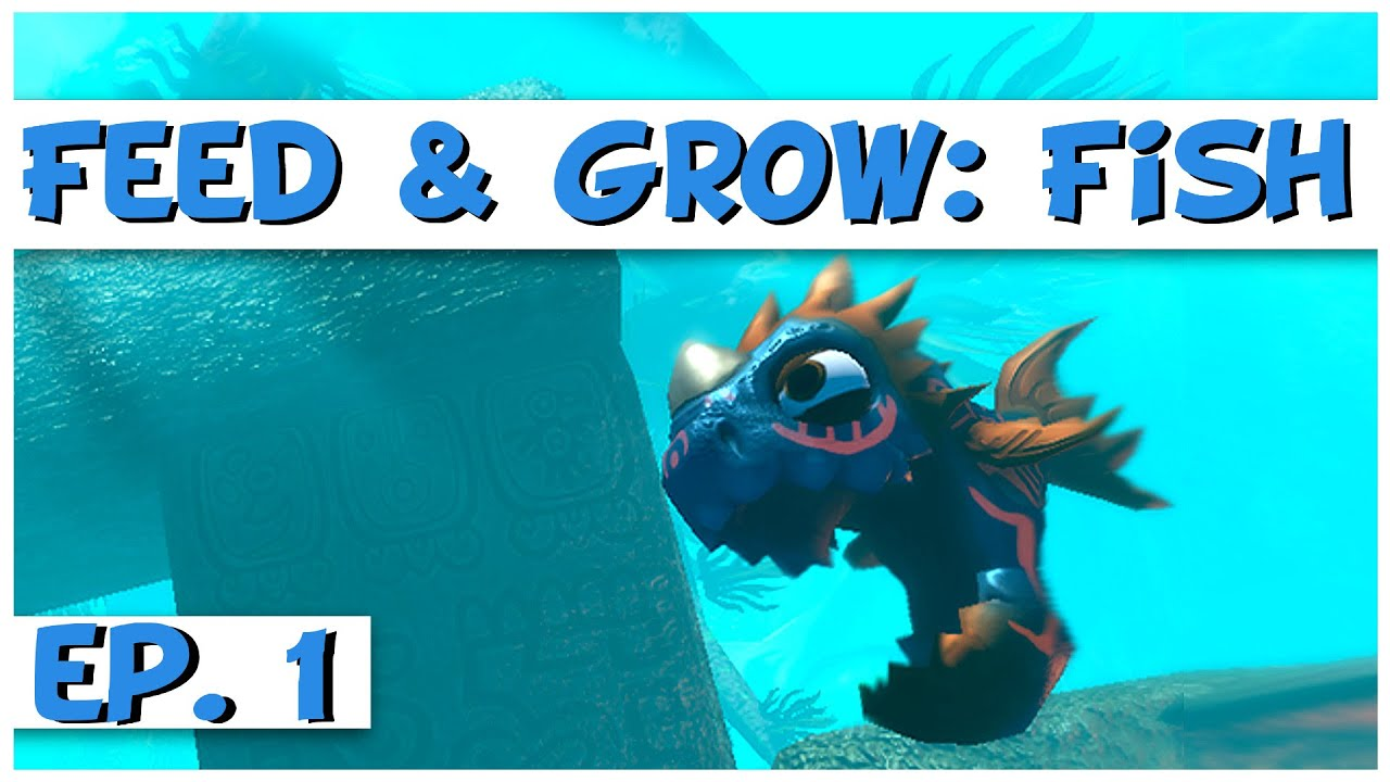 Feed and grow fish ep 1 fish feeding frenzy fe for Feed and grow fish the game