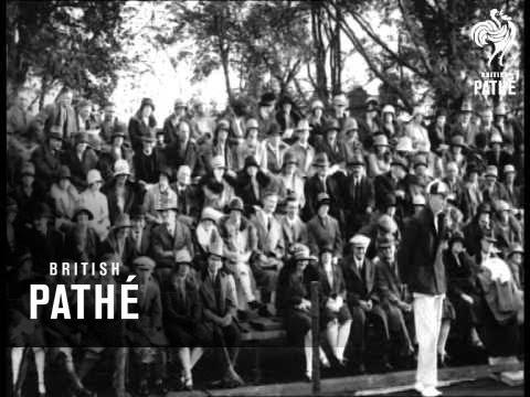 Tennis Film (1920-1929)