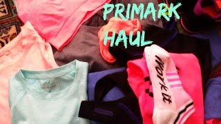 Primark Haul | Workout Clothes