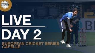 🔴 Live European Cricket Series Capelle, Day 2   Cricket Live Stream