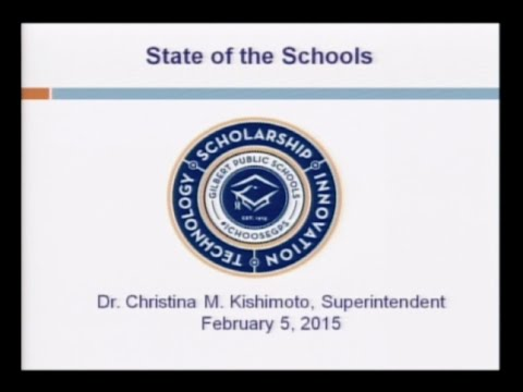 Gilbert Public School: State of the Schools Address