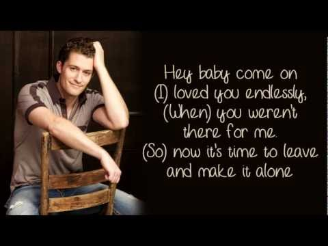 Glee - Bye Bye Bye/I Want It That Way (Lyrics)