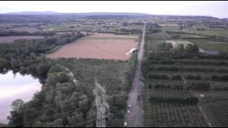 Saint-Just-d'Ardèche : les dégâts de la tornade vus du ciel