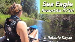 Sea Eagle Inflatable Kayak  RazorLite 473rl  Drop Stitch Tandem Kayak - Review