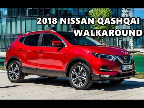 2018 Nissan Qashqai Magnetic Red Walkaround Youtube